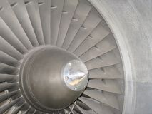 Jet engine front Royalty Free Stock Photography