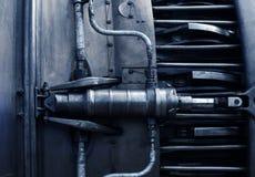 Jet engine inside Royalty Free Stock Image
