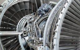 Jet engine inside Stock Photo