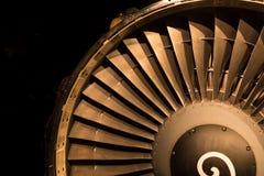 Jet Engine Intake Stock Image