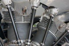 Jet engine intricate equipment Stock Photos