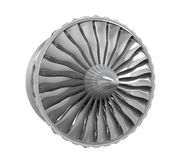 Jet Engine Isolated Stock Image