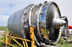 Jet engine maintenance Stock Photo