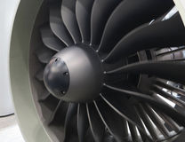 Jet Engine Stock Image