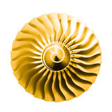 Jet engine sunshine Royalty Free Stock Photos