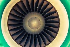 Jet Engine Turbine Stock Images