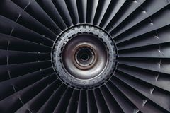 Jet Engine, Turbine, Jet, Airplane Royalty Free Stock Photography