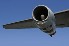 Jet Engine Wing 2 Stock Images
