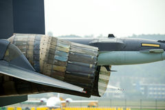 Jet engine Stock Image