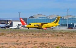 Jet Engined Air Ambulance Photographie stock libre de droits