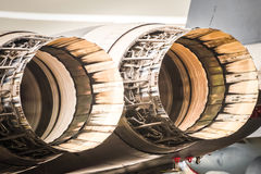 Jet engines Royalty Free Stock Photo