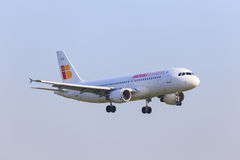 Jet exprès d'Ibérie Photos stock