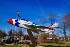 Jet F-84 Lizenzfreie Stockbilder