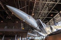Jet F15 im Museum Stockfotos