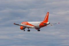 Jet facile - Airbus A320 Image libre de droits