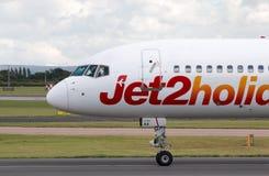 Jet2 Feiertage Boeing 757 Lizenzfreies Stockbild