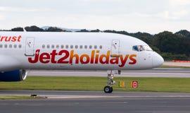 Jet2 Feiertage Boeing 757 Stockfotos