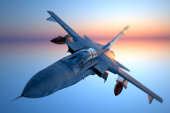 Jet fighter. Royalty Free Stock Photography