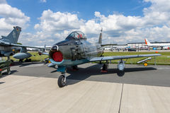 Jet fighter aircraft Canadair CL-13A Sabre 5. Stock Images