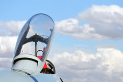 Jet Fighter canopy Stock Photography