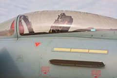 Jet Fighter Canopy Royalty Free Stock Photography
