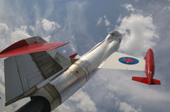 Jet fighter (CF-104 Starfighter) Stock Photography