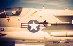 Jet Fighter Closeup Imágenes de archivo libres de regalías