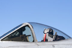 Jet Fighter Cockpit Stock Image