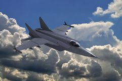 Jet fighter Royalty Free Stock Photos