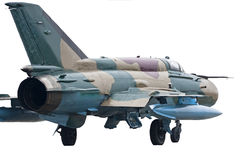 Jet fighter Mig 21  Stock Image