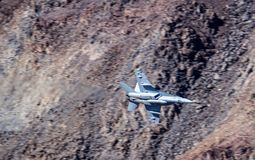 Jet Fighter Military Aircraft Flying Imagens de Stock Royalty Free