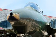 Jet fighter plane Royalty Free Stock Photo