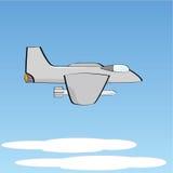 Jet fighter plane. Illustration of a jet fighter plane Stock Image
