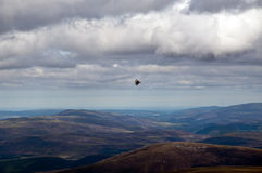 Jet fighter plane on Exercise in scotland Royalty Free Stock Photography