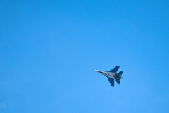 Jet fighter SU-30 Royalty Free Stock Images