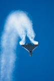 Jet Fighter trail Royalty Free Stock Photo