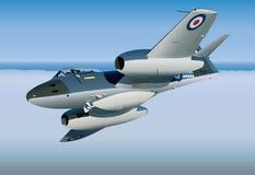 Jet Fighter Vetora ilustração royalty free