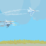 Jet Fighters Royalty Free Stock Images