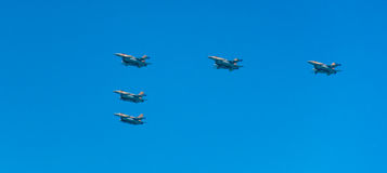 Jet fighters Royalty Free Stock Photos
