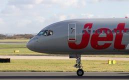 Jet2 flygbolag Boeing 757 Royaltyfri Foto