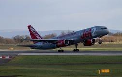 Jet2 flygbolag Boeing 757 Arkivfoton