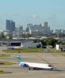 Jet in Fort Lauderdale stock fotografie