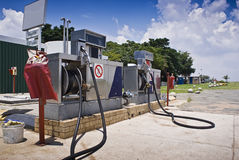 Free Jet Fuel - Aviation Filling Station Stock Photo - 14775530