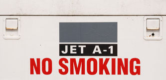 Jet Fuel Sign stock photo