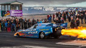 Jet Funny Car Image stock