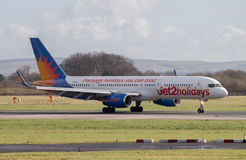 Jet2Holidays Boeing 757 Royalty Free Stock Photos