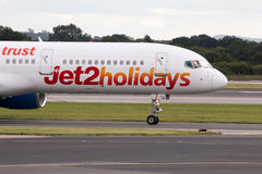 Jet2 Holidays Boeing 757 Royalty Free Stock Images