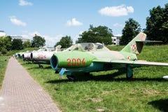 Jet im Luftfahrt-Museum in Krakau lizenzfreies stockbild