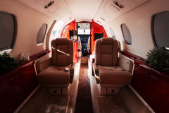 Jet interior Royalty Free Stock Image