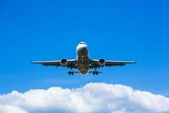 Jet landing Stock Photos